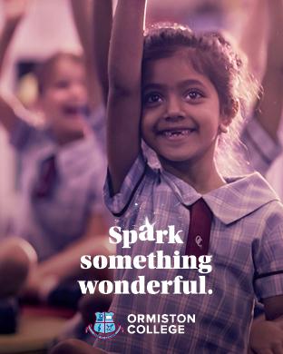 Ormiston Spark Something Wonderful