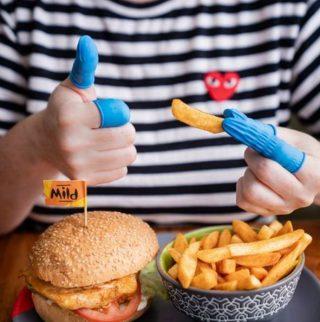 Nando's Chip Finger Gloves